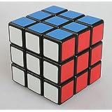 Topways® Shengshou 3x3x3 mágico cubo Intellengence Ninos Educacion Herramientas Magic cube Juego de Puzzle cube 57mm (negro base)