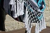 Vivere B512 Hängematte Sessel Baumwolle, Denim, mehrfabig - 4