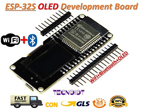 ESP32 OLED WeMOS Development Board WiFi+Bluetooth ESP-WROOM-32 ESP-32 ESP-32S |Carte de développement WeMOS ESP32 OLED WiFi + Bluetooth ESP-WROOM-32 ESP-32 ESP-32S