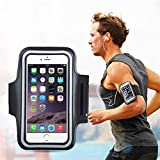 #4: Adjustable Sports Anti-Slip Armband Mobile Holder for OnePlus 6 / 5T / MI A2 / Real Me 1 / MI Note 6 Pro/Honor Play/Apple iPhones