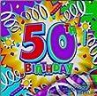 Happy Birthday Servietten zum 50.