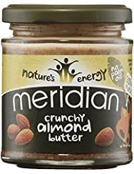 Meridian 100% Smooth Almond Butter 170 g (order 6 for trade outer)