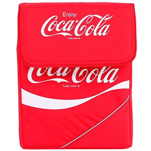 Preisvergleich Produktbild Coca-Cola Coca-Cola-Kuehltasche-FALTBAR-classic-14-liter-Kuehlbox-Coka-Cola (Rot)