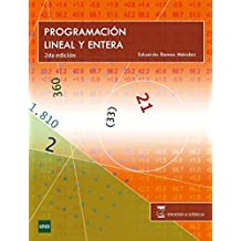 Programación Lineal y Entera