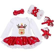 Vine Vestidos Navidad Ropa Bebé Peleles Bebe Niña Monos Navidad Ropa ...