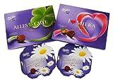 Geschenk Set Alles Gute zum Muttertag mit Milka Pralinenspezialitäten (4-teilig)
