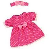 Bayer Design - Ropa para muñecas, vestido rosa, color rosa, blanco (84663AA)