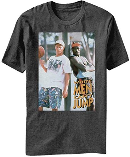 Stab & wound White Men Can't Jump basketball movie Billy& Sidney Adult T-Shirt Tee