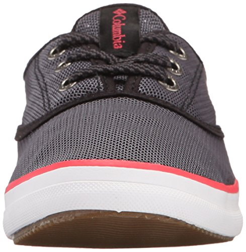 Columbia Vulc N Vent Lace Mesh, Baskets Basses Femme Rouge - Red (Shark/Laser Red)