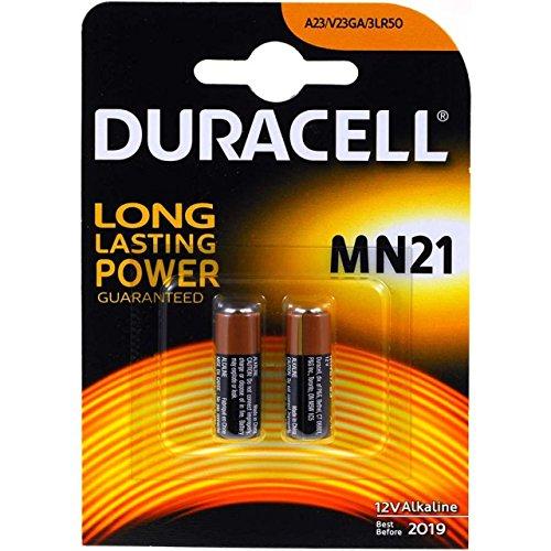 Duracell Lot de 2 piles MN21 2 packs