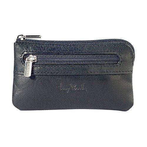 Schlüsseletui mit Reißverschluss - Vegetalle Collection - Tony Perotti Italy Farbe Black (Collection Rv-geldbörse)