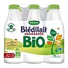 Blédina Blédilait Croissance - Lait bébé Bio de 1 à 3 ans 6 x 1 L