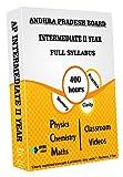 Andhra Pradesh Intermediate II - Combo Pack - Physics, Chemistry and Maths Full Syllabus Teaching Video (DVD)