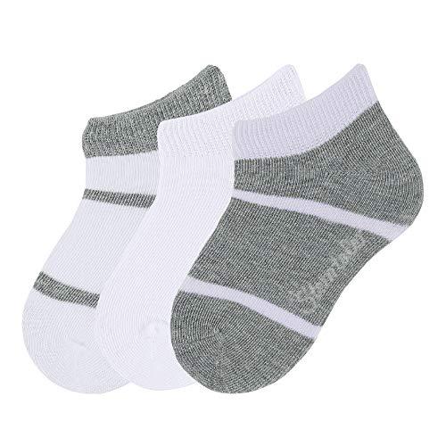 Sterntaler Sneaker-Söckchen, 3er Pack,Weiß, 17-18 Baby-sneaker