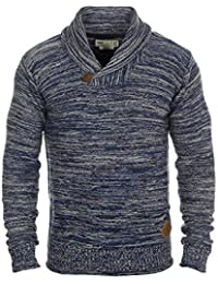 SOLID Miles Shawl - Pull en Maille- Homme