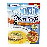 20Sachets de cuisson au four pour poisson - 2 packs de 10