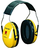 3M Kapselgehörschützer H510AC Peltor für Lärmpegel bis 98 dB, sehr leicht, stufenlos verstellbare Kopfbügel, gelb