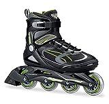 Bladerunner von Rollerblade Advantage Pro XT Herren Erwachsene Fitness Inline Skate, schwarz und grün, Inline Skates
