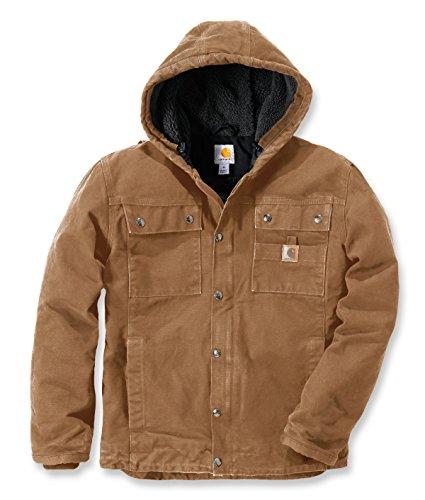 Carhartt Sandstone Barlett Jacket - Gefütterte Freizeitjacke/Arbeitsjacke