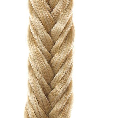 Goldblondes geflochtenes Haarband |Elastisches geflochtenes Haarband | 'Candy'blond