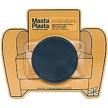 Reparador Cuero, Polipiel y Skai - Parches en Varios Colores - MastaPlasta - Circulo Grande (80mm) (Azul Marino)