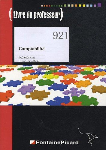 Comptabilité Bac Pro 1e secrétariat : Livre du professeur (1CD audio)