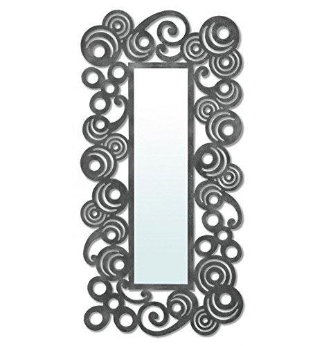 Espejo-vestidor-de-forja-modelo-Mundo-6-Negro