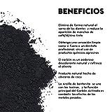 Blanqueador Dental de Polvo Carbón Activado y Arcilla de...