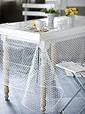 CALITEX agnos Tischdecke PVC Transparent 200x 140cm
