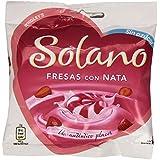 Solano - Caramelos Sin Azúcar Fresa-Nata (30 unidades)