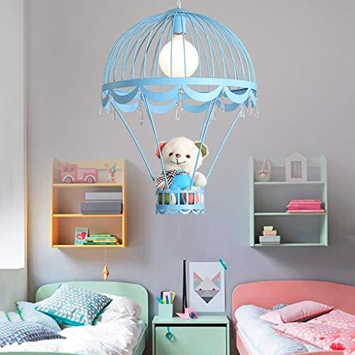 Bären-deckenleuchte (Einfache Kronleuchter LED Kinderzimmer Deckenleuchte Niedlichen Kleinen Bären Moderne Jungen Und Mädchen Zimmer Pendelleuchte Kreative Persönlichkeit Hängelampe Schlafzimmer Weiße Lichter)