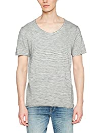 Selected Men's Slhnewmerce Stripe Ss O-Neck Tee W STS T-Shirt
