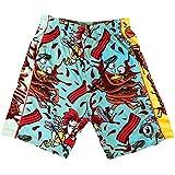 Flow Society Chicken & Waffles Boys Athletic Shorts - Boys Shorts - Gym Shorts