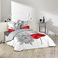 Couette fleurie parures de lit couettes et housses de couettes cuisine maison - Parure de lit fleurie ...