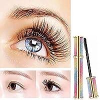 Angerella Women Dazzling Starry 4D Silk Fiber Mascara Full Figure Membrane Force Eyelash to Cream