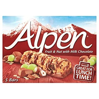 Alpen Fruit & Nut Cereal Bars 5 Pack 145g (10 Boxes)