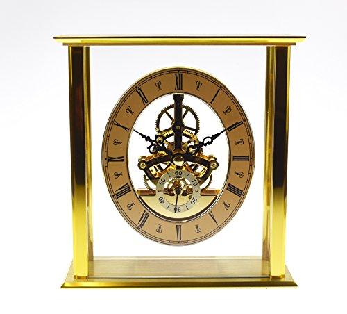 David Peterson Grande Anglais Quartz Carriage Clock, Brass – Clocks