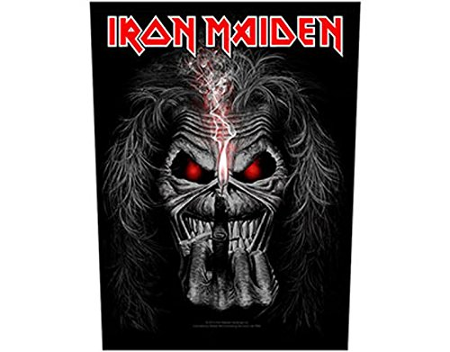 Iron Maiden - Eddie Candle - Parche Grande/Back Patch