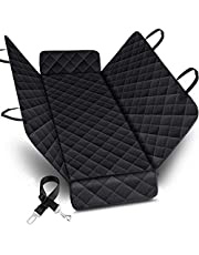 PetsUp Dog, Pet Seat Cover for Car (147 x 137 cm, Black)