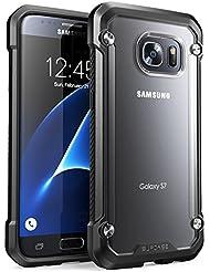Carcasa para Samsung Galaxy S7 2016, Funda cubierta protectora SUPCASE Unicorn Beetle serie Premium Hybrid (Frost/Black)