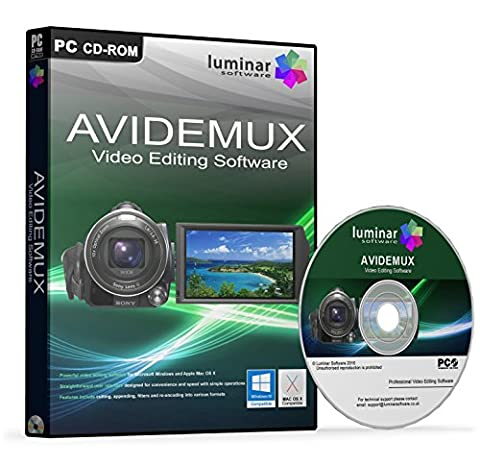 Avidemux - Powerful Video / Movie Editing / Production / Conversion Studio Software (PC & Mac) - BOXED AS SHOWN