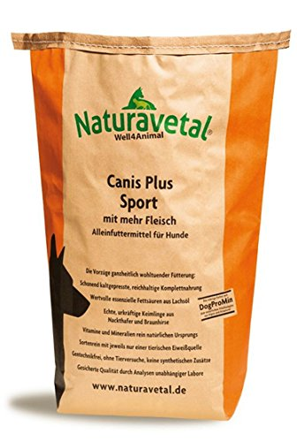 Naturavetal Canis Plus Sport 15kg + Messbecher