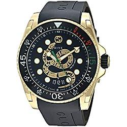 Gucci Dive Reloj Cuarzo Suizo analógico Correa de Goma Caja de YA136219