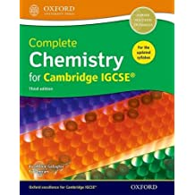 Complete Chemistry for Cambridge IGCSE (Cie Igcse Complete)