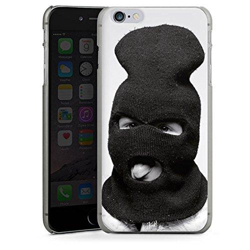 Apple iPhone X Silikon Hülle Case Schutzhülle Oliver Rath Maske Hipster Hard Case anthrazit-klar