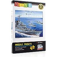 NimNik Puzzle 3D Titanic Ship per bambini educativo divertente 3d Puzzle a incastro per adulti, ragazzi, ragazze, adolescenti. Perfetto come idea regalo - 48 pezzi
