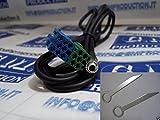 G.M. Production 191BV XP + Schlüssel Bravo–Kabel AUX IN iPod MP3iPhone iPad Galaxy S2S3nur Audio, für Fiat mit Autoradio Visteon ab 2007(nur Radio-Serie) [Fotos und Angaben zur Kompatibilität beachten]