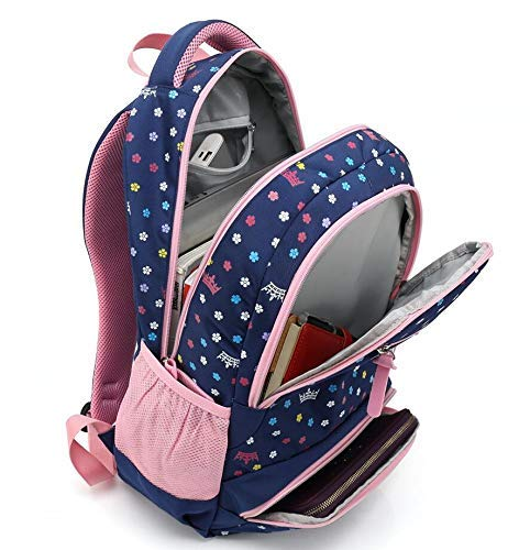 Reelay mee 18 L Polyester, Light Weight, Day-Trip/School Backpack - 2617 (Royal Blue) Image 5