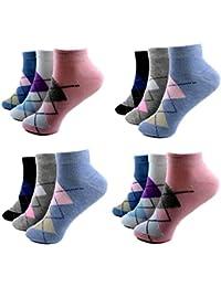 HighClassStyle Calcetines cortos - para mujer