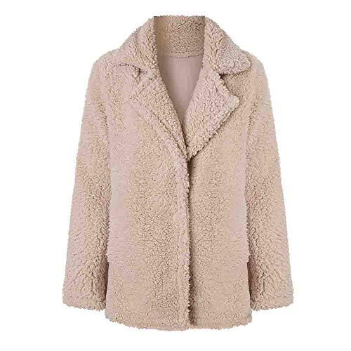 TianWlio Warme Mäntel Frauen Frauen Mantel Langarm Strickjacke Jacke Outwear Mantel Oberbekleidung Herbst Winter Lässige Jacke Winter Warme Parka Outwear Damen Mantel Mantel Oberbekleidung